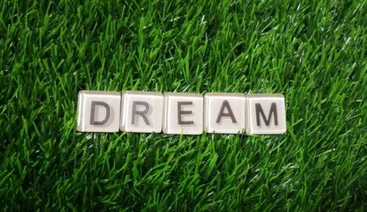 夢は叶うかどうかは置いといてまずは持つ